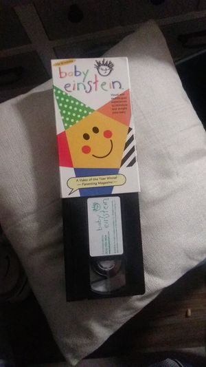Baby Einstein VHS in box Good condition for Sale in Ontario, CA