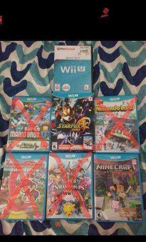 Nintendo wii u Games for Sale in San Bernardino, CA