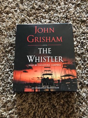 The whistler by John Grisham audible book for Sale in Aurora, CO