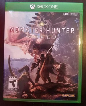 Monster Hunter World for Xbox One for Sale for sale  New York, NY