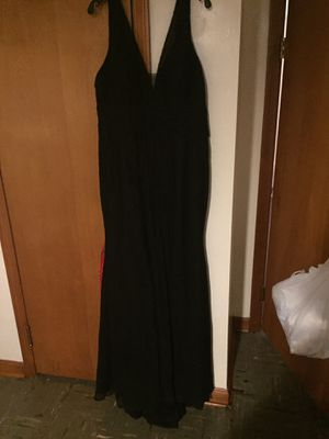 Long black prom dress for Sale in Walton Hills, OH