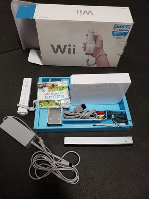 Nintendo Wii In an Original Box Hacked with Homebrew channel installed for Sale in Redding, CA