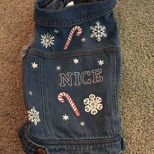 Christmas Dog Vest-small/medium for Sale in Vancouver, WA