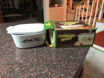 5QT Corningware Covered Casserole Dish with Lid for Sale in Ashton,  MD
