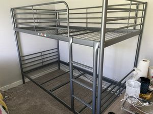 Bunk bed , excellent and very firm. With mattress. for Sale in Tacoma, WA