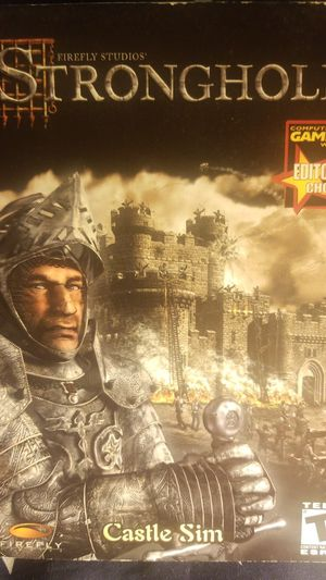 Stronghold: Castle Sim BRAND NEW NEVER OPENED!!! (PC) for Sale in Houston, TX