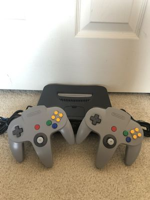 Nintendo 64 with 5 amazing games! for Sale in Dallas, TX