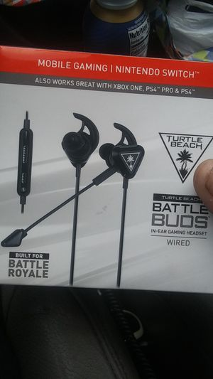 Turtle Beach battle buds wired Nintendo switch headset for Sale in Vancouver, WA