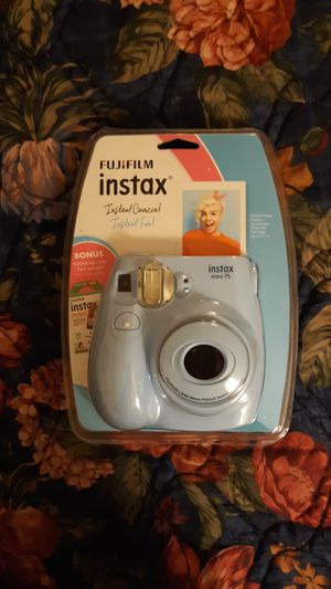 Fujifilm, Instax Polaroid Camera, Instax Mini 7S for Sale in Denver, CO
