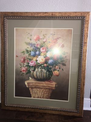 Home interiors picture frame for Sale in Humble, TX