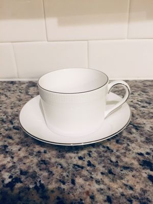 Vera Wang Wedgwood Dinnerware Blanc Sur Blanc Teacup for Sale in Miami, FL