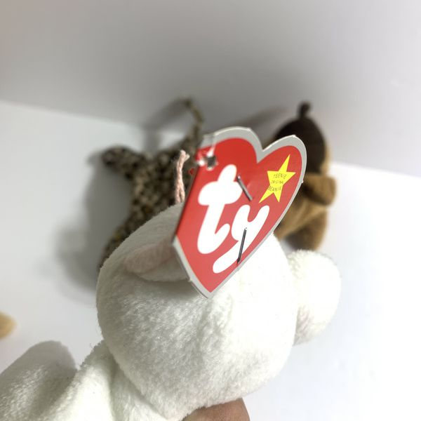 Ty Beanie Babies Lot of 6 (Read Desc)