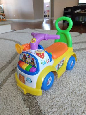 Fisher price little people music parade ride-on for Sale in Schaumburg, IL