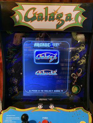 Galaga & Galaxian Arcade 1Up Machine with Riser for Sale in Federal Way, WA
