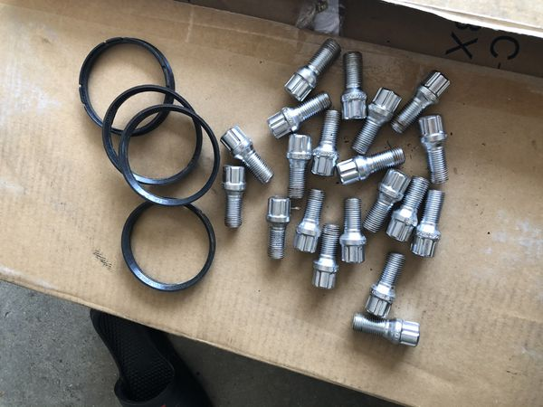 18x8.5 XXR 568 5x112 +38 Chromium Black Rims (4 Rims)