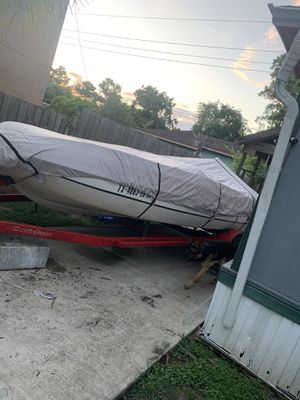 Ski deck 18ft boat for Sale in Humble, TX