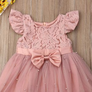 2-7Years Toddler Kid Girl Princess Dress Lace Tulle Wedding Birthday Party Tutu Dress Pageant Children Clothing Kid Costumes for Sale in Orlando, FL
