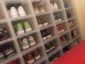 Nike, Adidas, Bape, BBC, Jordan, Vans Closet sale everything must go DEALS!!!! Sz 9-10 for Sale in Atlanta, GA