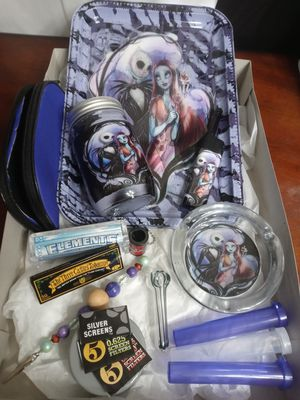 Nightmare before Christmas Deluxe set everything you need roll set for Sale in Lake Wales, FL