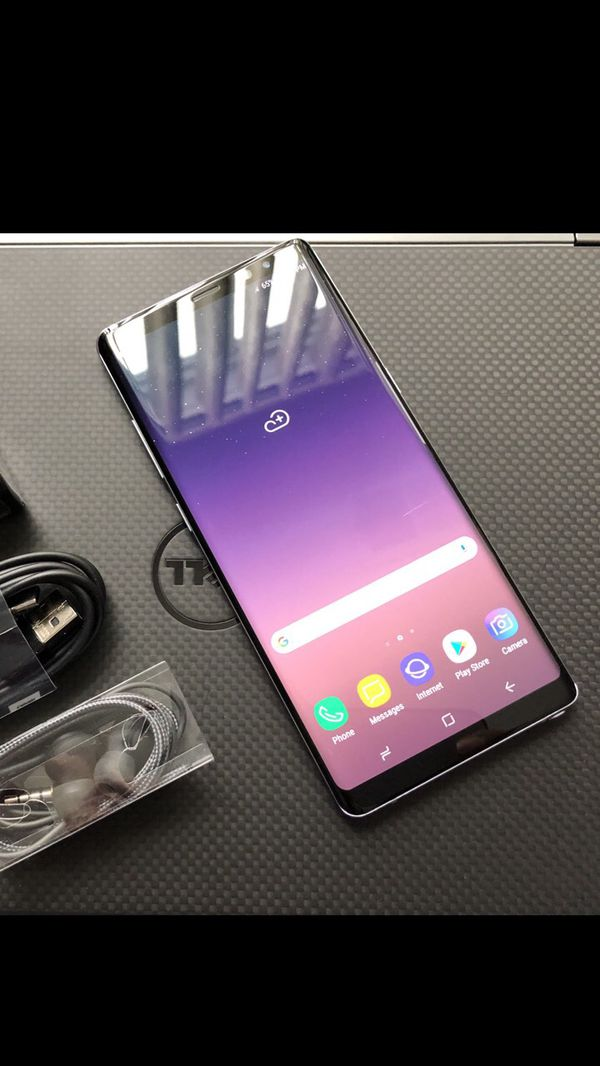 Samsung Galaxy Note8 - Excellent Condition, Factory Unlocked, clean IMEI