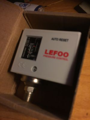 LEfoo pressure control switch for Sale in Hannibal, MO