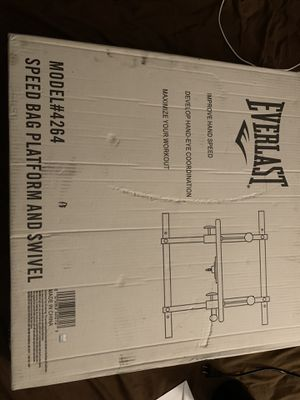 Everlast speed bag platform and swivel for Sale in Discovery Bay, CA