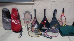 Wilson rackets and cases for Sale in Palmdale, CA