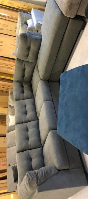 🧿SAMEDAY DELIVERY 🧿SPECIAL] Maier Charcoal LAF Sectional for Sale in Jessup, MD