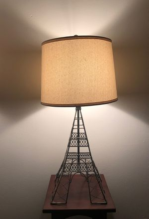 Eiffel Tower Lamp for Sale in Wakefield, MA