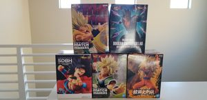 Dragonball Z Variety of 5 Licensed Figures for Sale in Corona, CA
