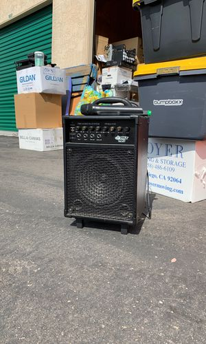 Pyle Pro audio PA system with mic for Sale in San Diego, CA