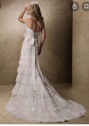 Wedding Dress Maggie Sottero Boston for Sale in Tyngsborough, MA