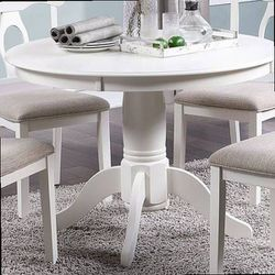 5-PC DINING SET--WHITE - F2560 for Sale in Pomona,  CA