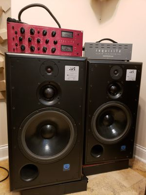 ATC SCM-150SL studio speakers + Requisite Audio L2M Mark 3 MS compressor for Sale in Franklin, TN