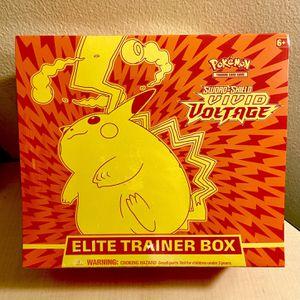 Pokemon Cards: Vivid Voltage Elite Trainer Box for Sale in Irvine, CA