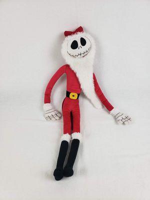 Nightmare Before Christmas Jack Skellington Santa Plush for Sale in Hillsboro, OR