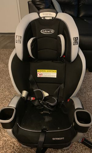 Graco extended fit car seat for Sale in Silver Spring, MD