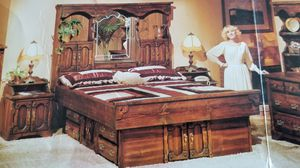 Complete Bedroom Suite...seven pieces. No mattress. for Sale in Oak Glen, CA