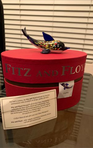 NEW FITZ and FLOYD Dolphin Figurine Ltd Edt Gift BOX for Sale in San Fernando, CA