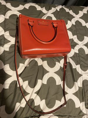 Red Kate spade purse for Sale in Itasca, IL
