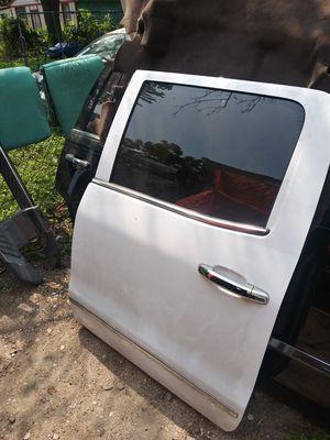 Parts 2015 to 2018 Chevy crew cab truck Silverado rear driver door for Sale in Dallas, TX