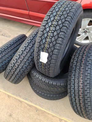 "14"" trailer tires new for Sale in Fort Worth, TX"