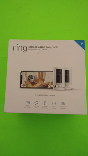 Surveillance, ring, Indoor Cam, Two Pack for Sale in San Diego, CA