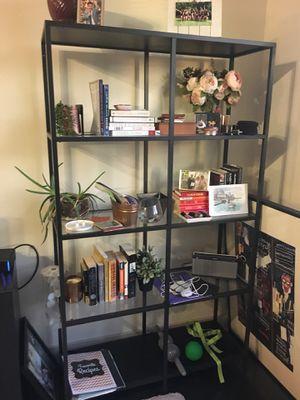 Glass bookshelf for Sale in Washington, DC