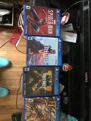 PS4 plus more for Sale in Coraopolis, PA
