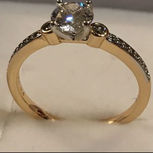 14k gold plated ring size 81/2 for Sale in Los Angeles, CA