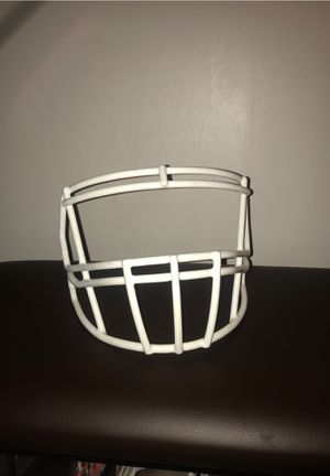 White Adult Revolution Speed Football Facemask for Sale in Tacoma, WA