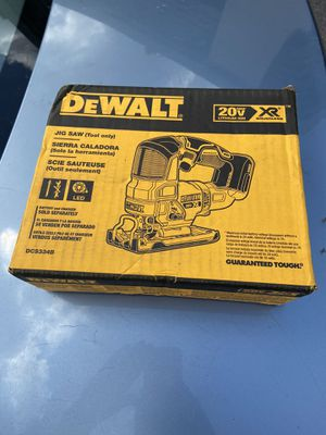 Dewalt 20v XR jig saw (tool only) for Sale in Atlanta, GA