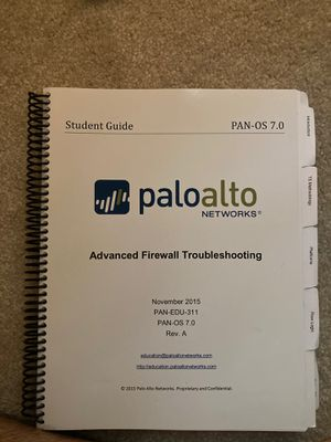 Palo Alto Firewall textbooks for Sale in Westford, MA