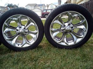 275)45)20 tires and rims for Sale in French Camp, CA